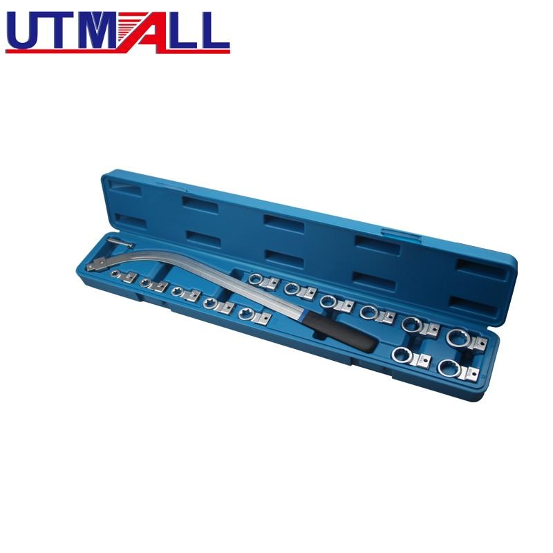 BELT TENSIONER WRENCH SET 15 PIECE 12mm - 19mm E10 - E18 Essential Tool Set