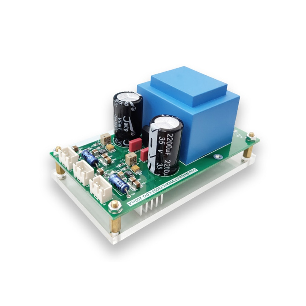 Taidacent LT3042/LT3093 Linear Power Supply 5V12V15V Low Noise Precision 220VAC Power Supply For Amplifier Audio Decoder Circuit