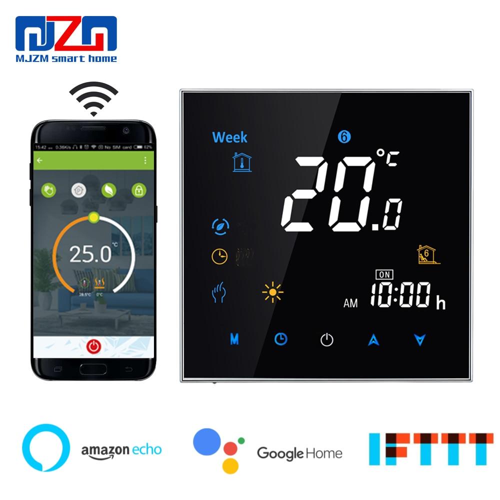 Termostato MJZM GL-3000 WiFi para caldera de Gas, termostato de pared Digital programable, regulador de temperatura, contacto seco