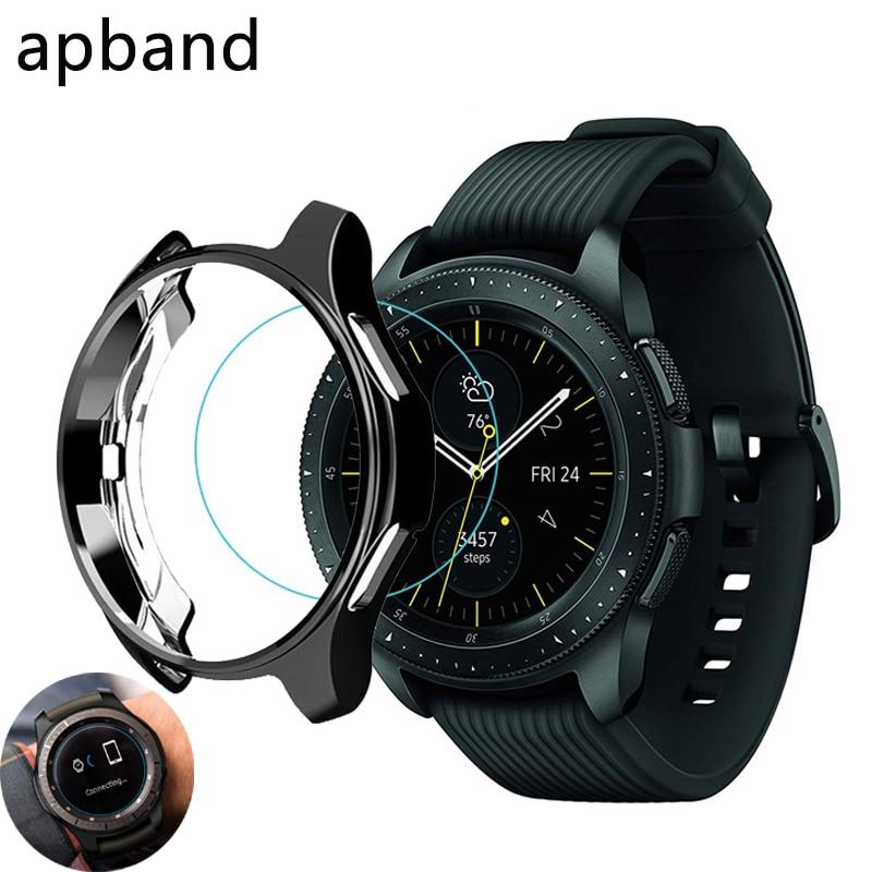 Gear S3 frontier-funda protectora chapada para reloj inteligente, accesorios para Samsung Galaxy...