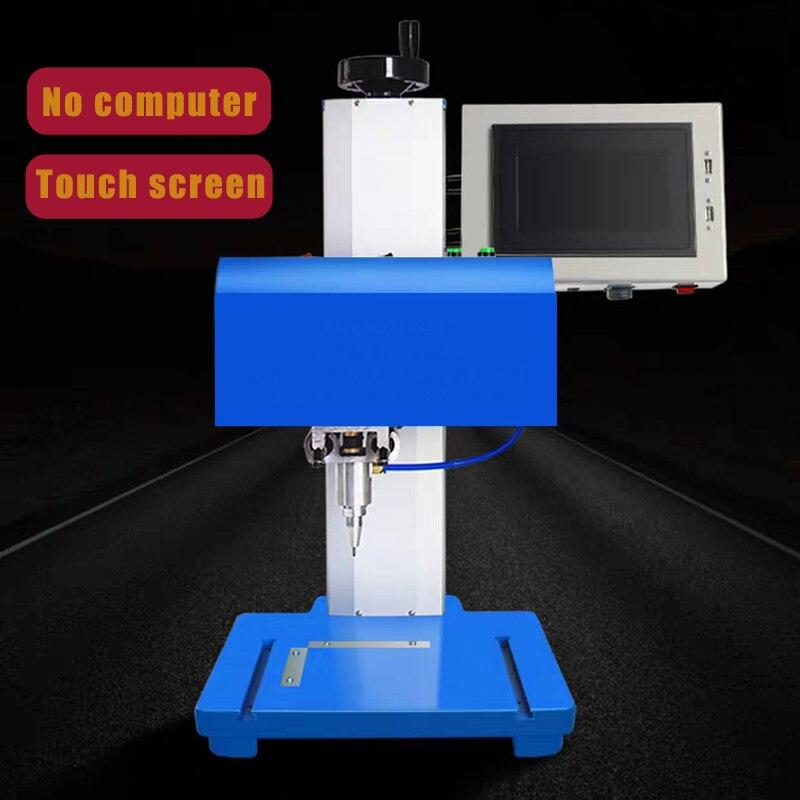 Proveedores de China, máquina de grabado de etiquetas metálicas, máquina Cnc de puntos, máquina de fabricación de placas con nombre