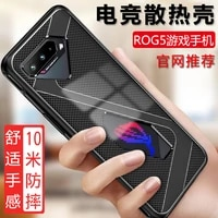 luxury grade soft tpu silicone matte shockproof phone case for asus rog phone 5 3 2 protective back cover capa coque fundas