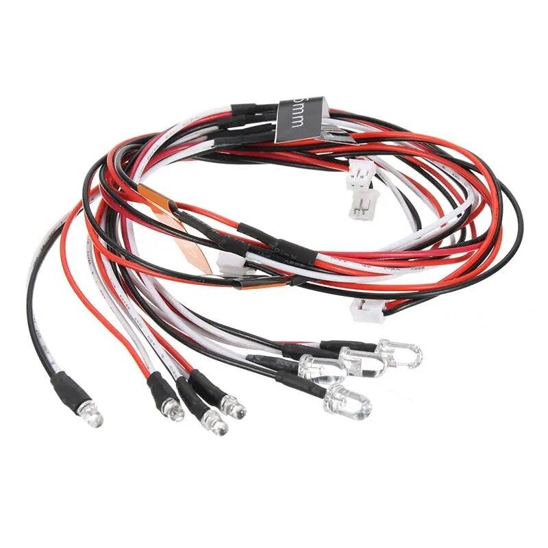 LED Light kit Set Brake Turn Signal Simulator For 2.4G 1/10 RC Car Parts Accessories enlarge