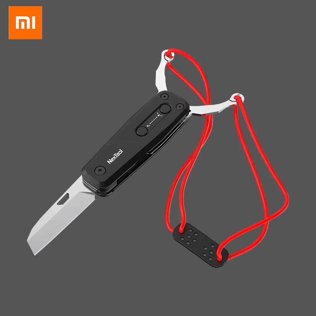 Xiaomi  Nextool Professional Outdoor Slingshot  Multifunctional Black Combination of Knife and Bow Selected Good Materials