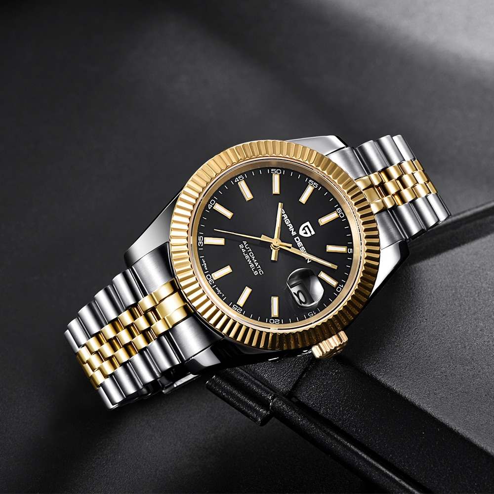 Reloj de diseño PAGANI de lujo para hombre, reloj mecánico resistente al agua de acero inoxidable, reloj deportivo de moda, reloj automático para hombres, reloj