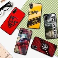sport car dodges viper phone case for iphone 6 6s 7 8 plus x xs xr xsmax 11 12 pro promax 12mini