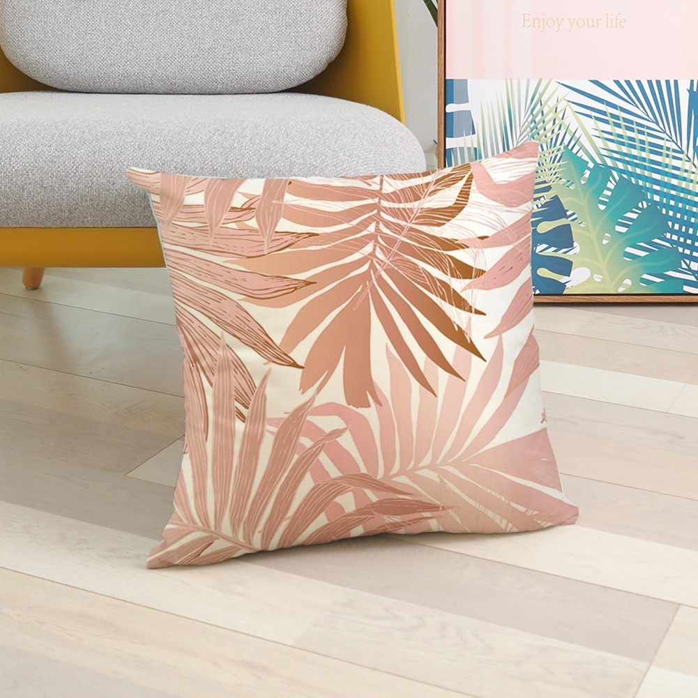 18 Nordic Pink Pillow Geometric Cushion Cases Creative Patterns Pillows Case Modern Sofa Couch Decorative Throw