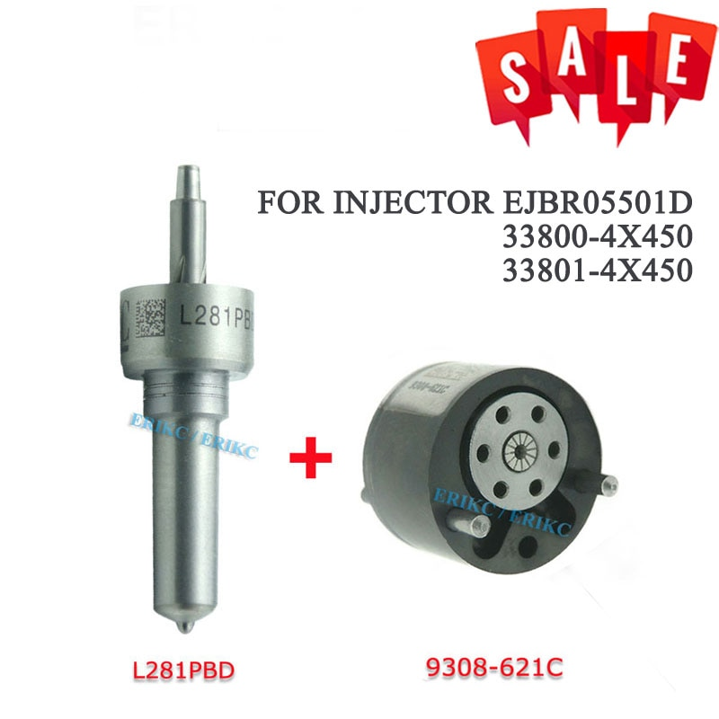7135-623 (L281PBD + 9308-621C) дизель Common Rail Инжектор Ремонтный комплект контрольный клапан 9308Z621C сопло L281PRD для KIA EJBR05501D