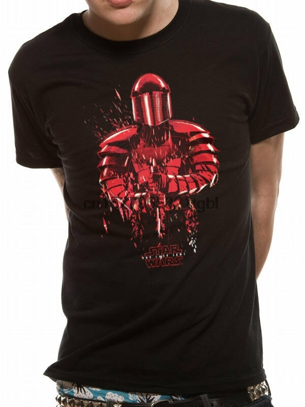 Camiseta 8 the last jedi-guarda pretoriana-preto-unissex