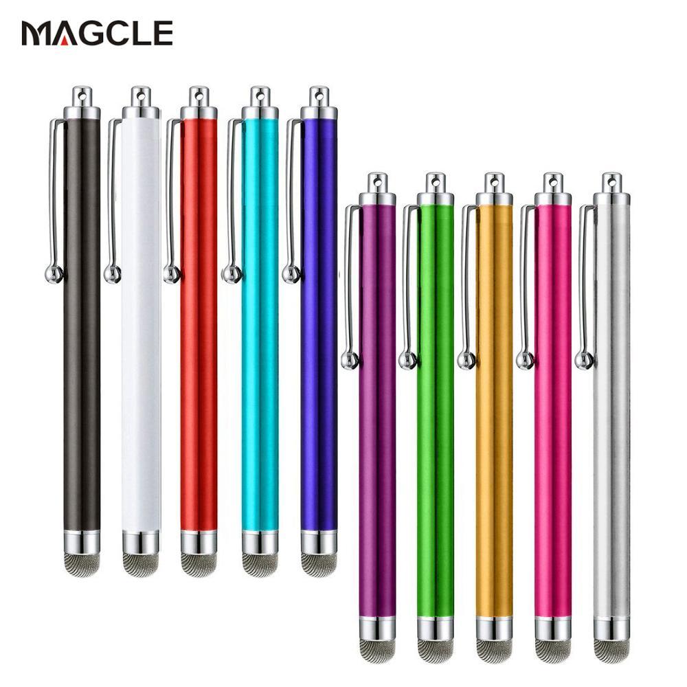 قلم شاشة لمس معدني عالمي ، شبكي ، قلم سعوي لجميع شاشات الهواتف الذكية والأجهزة اللوحية ، توصيل مباشر