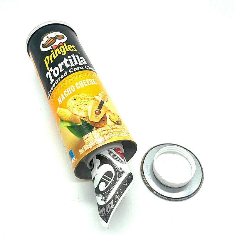 Tortilla Flavoured Corn Chips Diversion Safe Stash Box Crisps Hidden Safe недорого