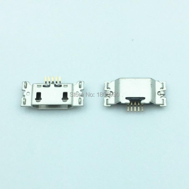 10 Uds. Micro USB 5pin mini conector puerto de carga móvil para Motorola Moto G5 Plus XT1686 XT1681 XT1683 XT1682 XT1685 reparación
