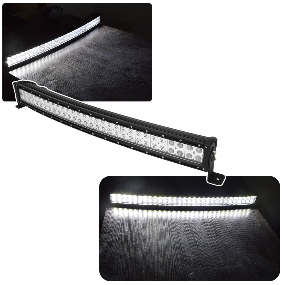 30 inches 180W Curved LED Light Bar with Rocker Switch Wiring Kit and Below Roof Mounting Brackets For POLARIS RZR XP 1000 900 enlarge
