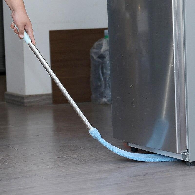 3in1 Corner Cleaning Tool Nook Duster Long Handle Dust Cleaner Floor Brush Easy To Clean Sweeper Car Wash Mop Broom Microfiber