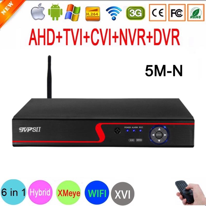 Panel rojo de Audio Xmeye, detección facial, 5M-N, Hi3521D, H265 + 16...