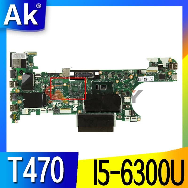 لينوفو ثينك باد T470 اللوحة الأم للكمبيوتر المحمول CT470 NM-A931 FRU:01HW539 وحدة المعالجة المركزية: I5-6300U