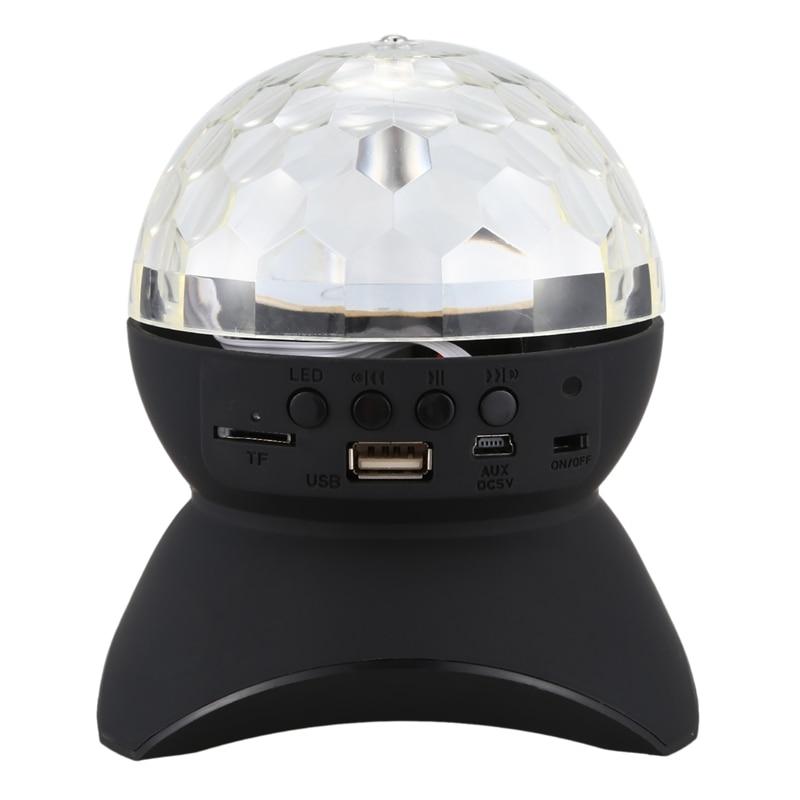 Luces de colores, Altavoz Bluetooth, lámpara de proyección, altavoz pequeño, gran volumen, luz nocturna dinámica, Bluetooth, soporta Audio Tf Aux
