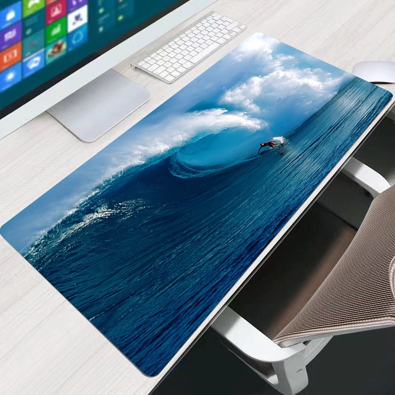 Design Surfing 40x90cm Best Cool  Mouse Pad Gaming Keyboard Mats PC Computer Mousepad Waterproof Desk Table Mouse Mat