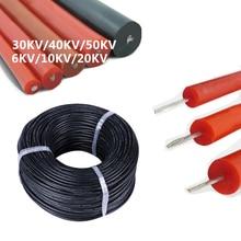 Tinned copper Wire UL3239 Silicone High Voltage Wire Cable 6KV 10KV 20KV 28 26 24 22awg 20awg 18awg 16awg High Temperature 150°