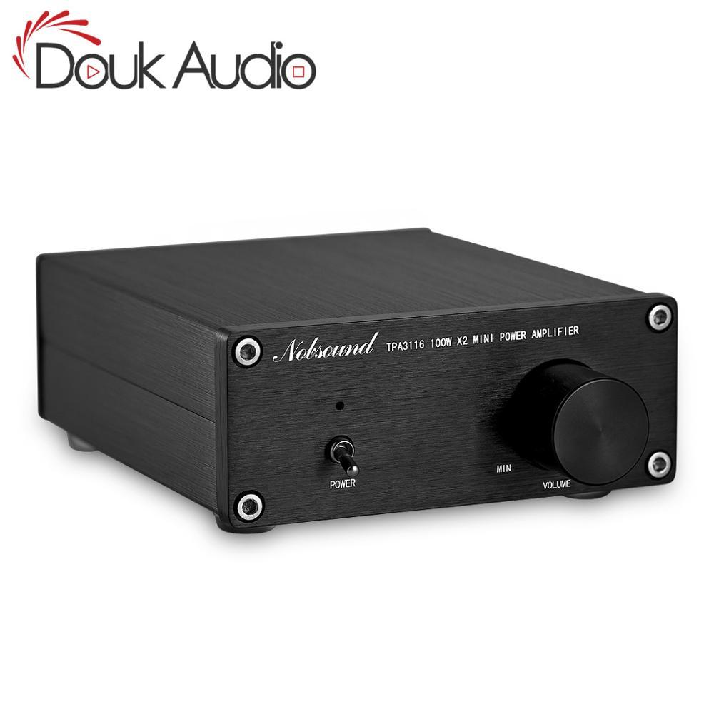 Douk audio 200 Watts Mini HiFi TPA3116D2 Digital Power Amplifier Dual-channel Stereo Music Home Audio Amp