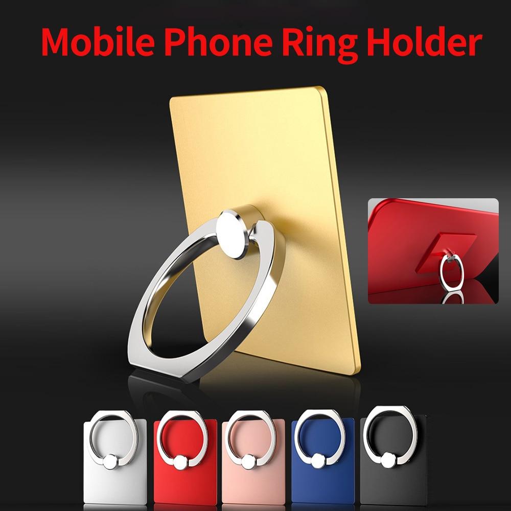 smartphone Universal Finger Ring Holder Stand Grip 360 Degree Rotating for Mobile Phone
