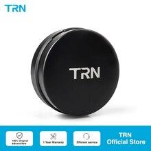 TRN-caja de Metal para auriculares con Bluetooth, caja de almacenamiento de alta gama con logotipo personalizable, bolsa de auriculares portátil Anti-presión para TRN V90