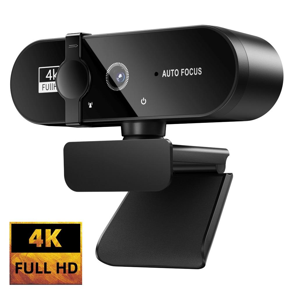 Фото - Веб-камера 1080P 4K веб-камера мини-камера 2K веб-камера с микрофоном USB веб-камера Full HD для ПК камера для видеосъемки онлайн-камера веб камера