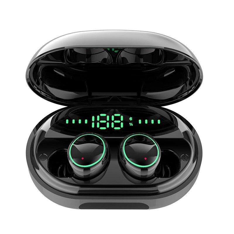 C5 TWS IPX8 Bluetooth наушники спортивные стерео звук сенсорное управление шумоподавление игровая гарнитура с 3500 мАч Power Bank