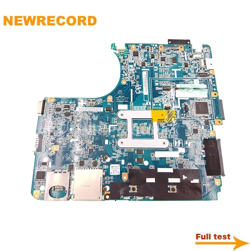 Купить с кэшбэком NEWRECORD A1771573A For Vaio VPCEB MBX-223 M960 1P-009CJ01-6011 laptop motherboard HM55 DDR3 free CPU main board full test