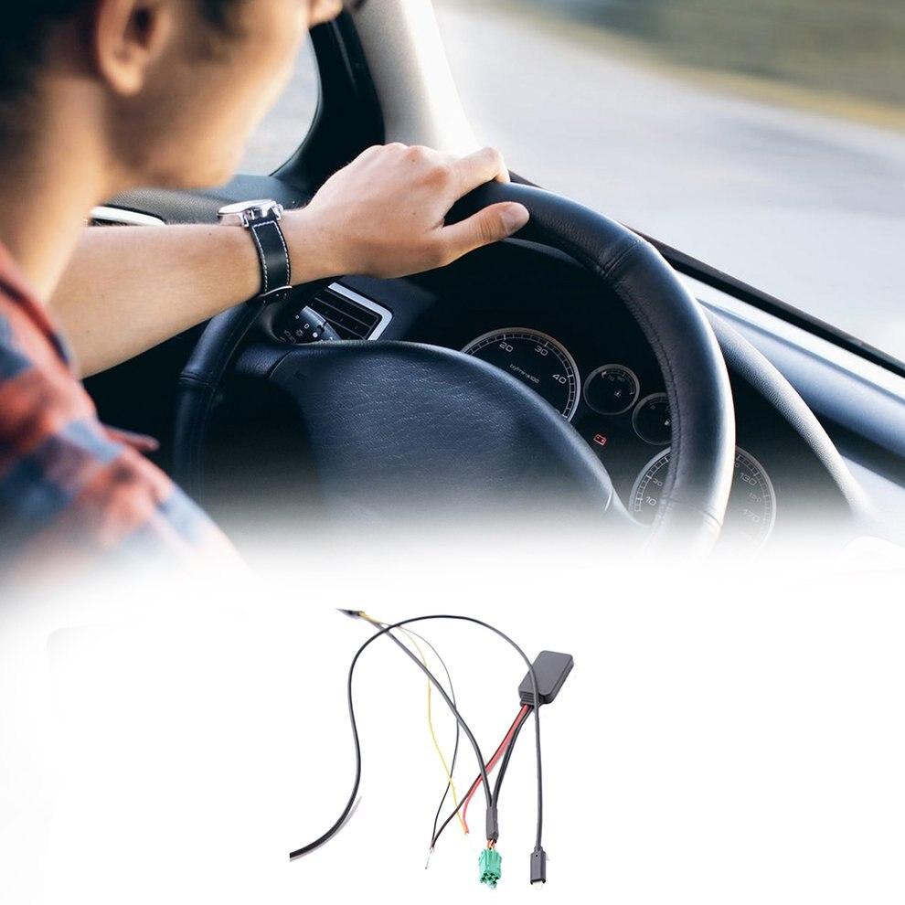 Para Renault para iphone 7 8 x línea AUX + Profesional de Música de Super largo AUX del coche en adaptador de Cable de Audio