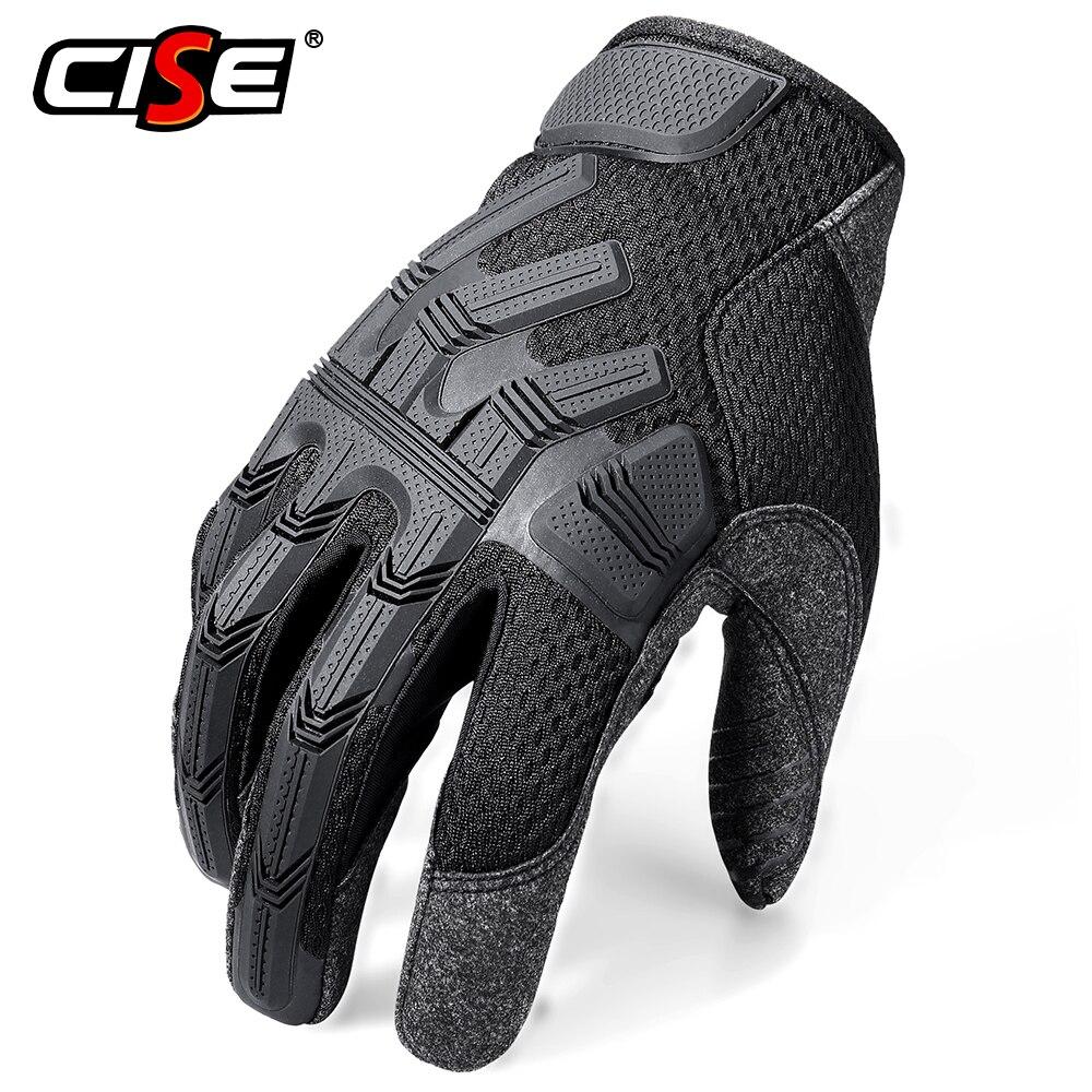 Motorcycle Full Finger Gloves Enduro Motocross Pit Biker Cycling Riding Motorbike Racing Protective Gear MTB BMX Moto Glove Men