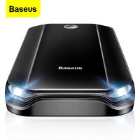 Baseus Car Jump Starter Power Bank 800A Portable Car Booster Emergency Battery Charger 12V Starting Device Petrol Car Starter