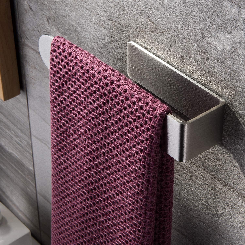 AliExpress - Zunto Towel Holder Bathroom Kithcen Towel Rack No Drilling Towel Rail 304 Stainless Steel Towel Hanger 2020 Newest Bar