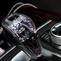 luxury crystal gear shift knob for automatic bmw x6 series chassis g06 2020 2021
