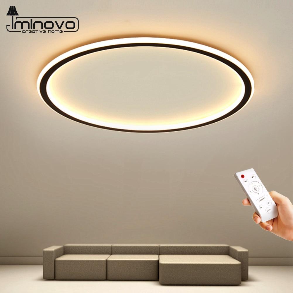 مصباح سقف LED داخلي بتصميم بسيط مع جهاز تحكم عن بعد ، مصباح سقف مزخرف ، تصميم داخلي ، مثالي لغرفة النوم أو غرفة المعيشة.