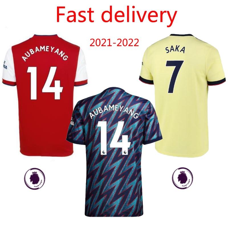 blank soccer jersey 21-22 New jersey Odegaard Ødegaard Tomiyasu Saka Granit Xhaka customize High quality Camiseta soccer jersey