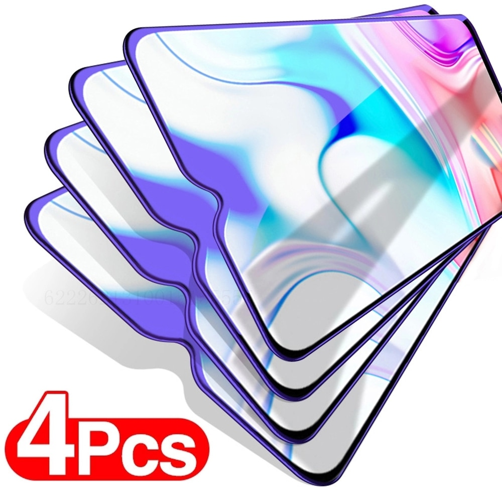 4Pcs Protective Glass For Samsung Galaxy A50 A70 A51 A71 Screen Protector For Samsung A10 A20 A30 A4