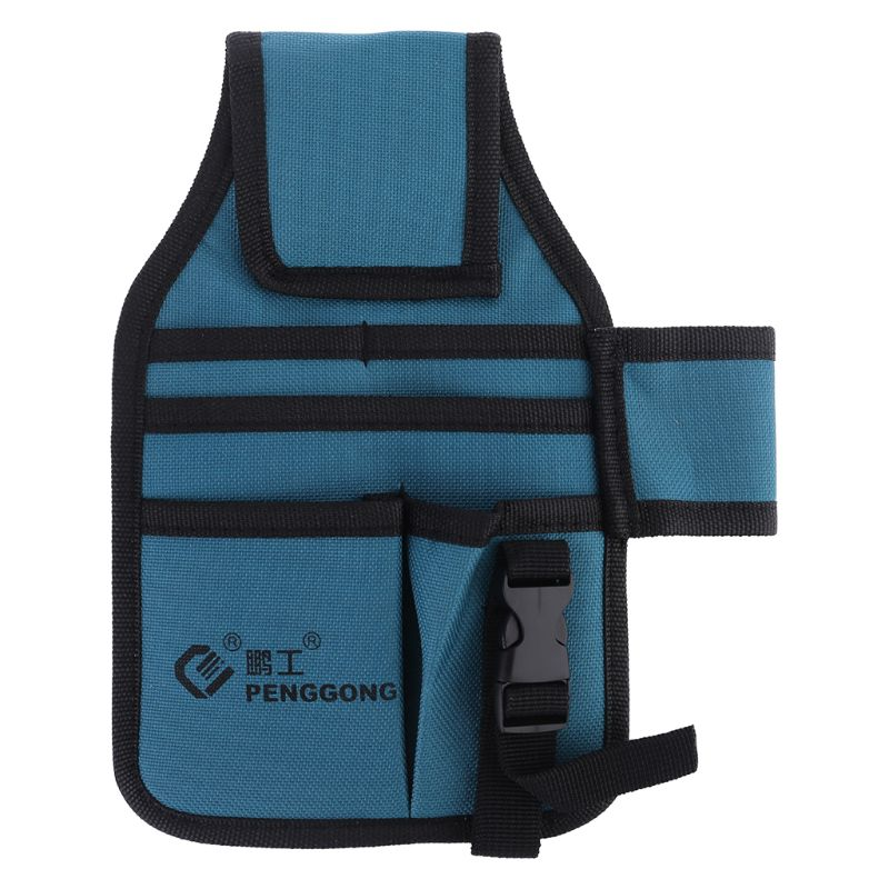 Kit de herramientas de Hardware, bolsa de cintura Machinist, tela Oxford impermeable, bolsa de almacenamiento con múltiples bolsillos, sin cinturón, electricista