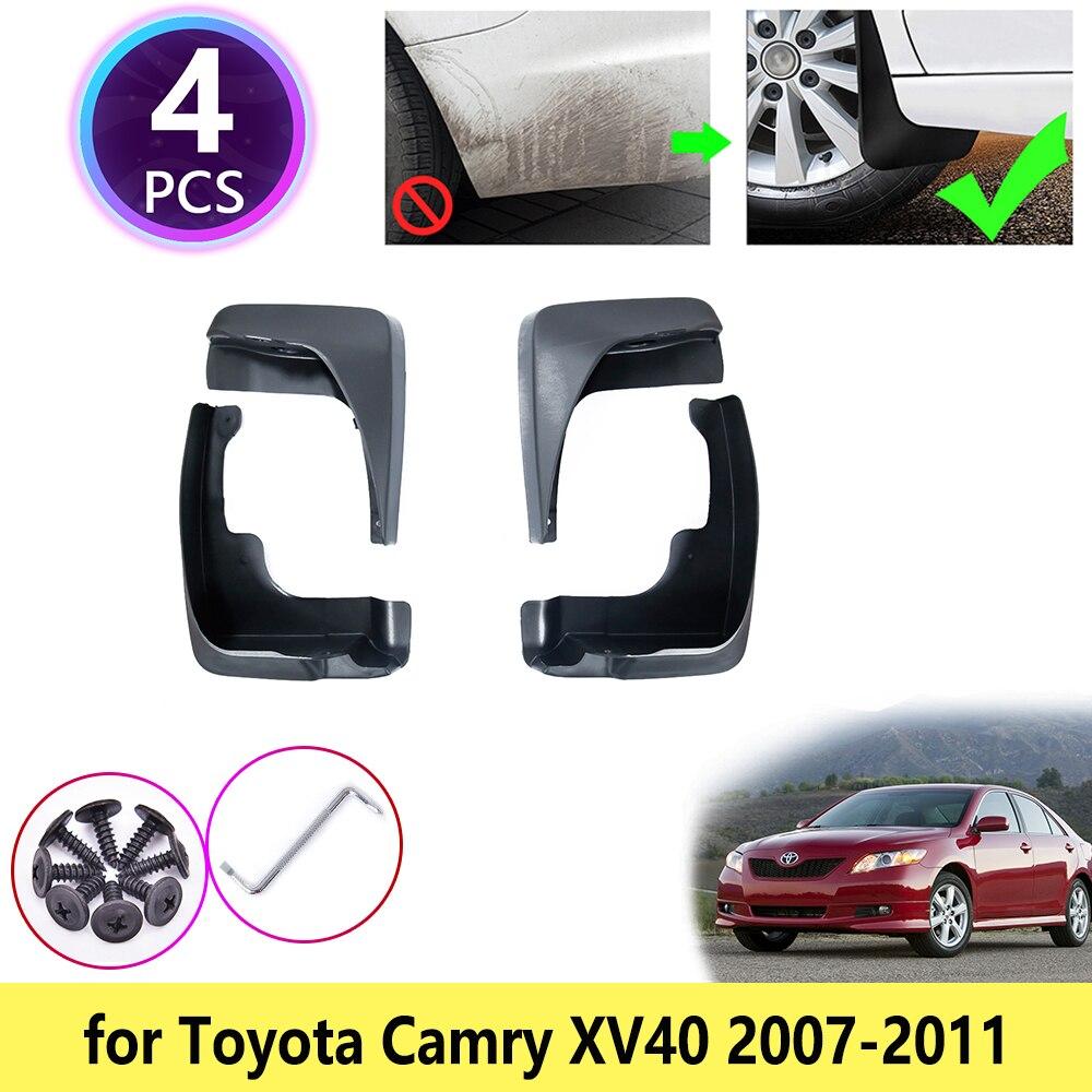 Para Toyota Camry Altis Aurion 40 XV40 2007 2008 2009 2010 2011 guardabarros Accesorios
