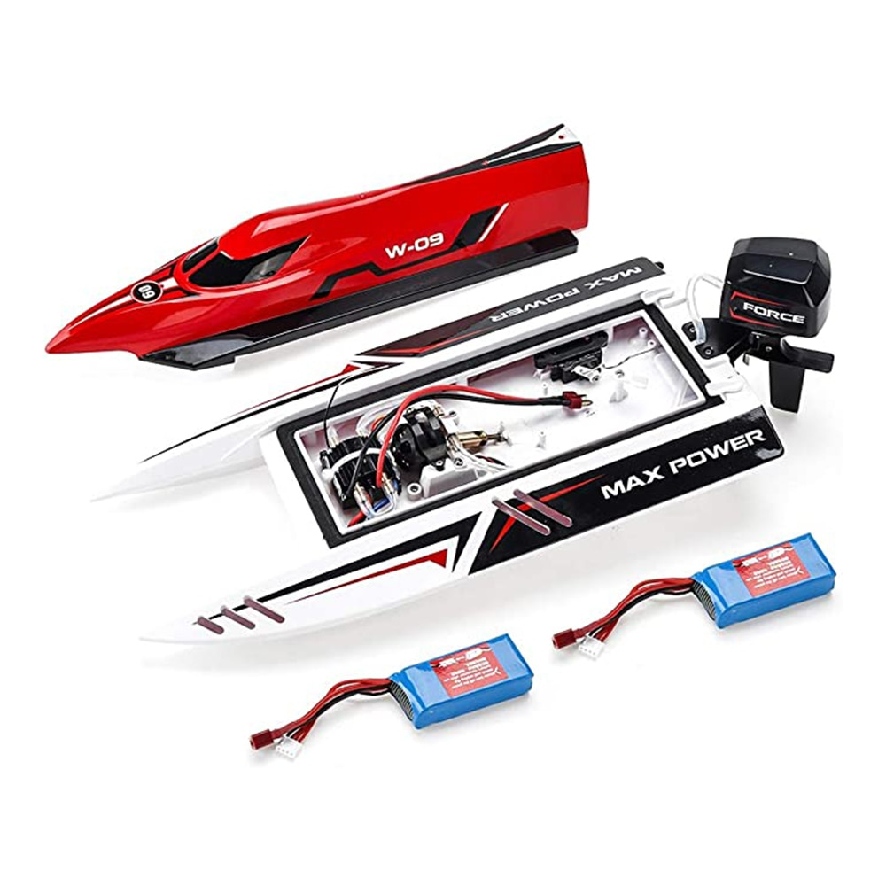Original Remote Control Brushless High-Speed Ship High Simulation F1 Streamlined Hull Low Electricity Protection Anti-Rolling enlarge