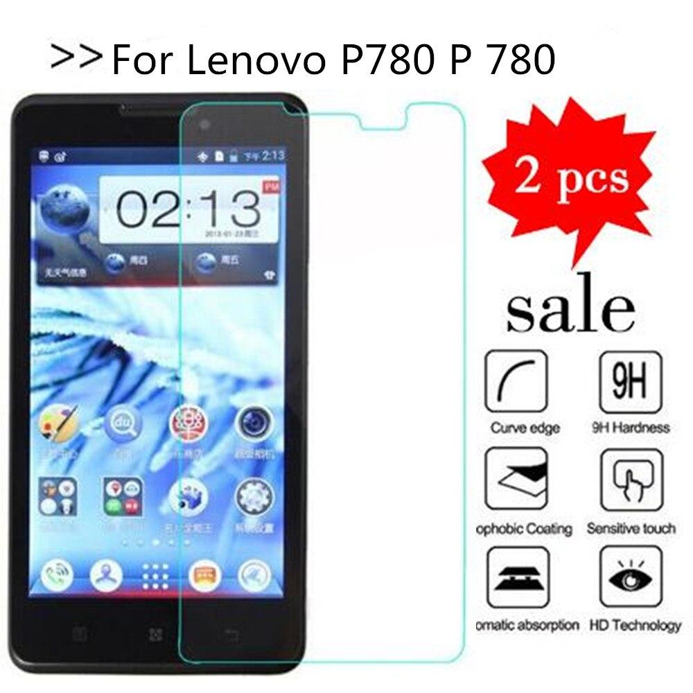 Vidrio templado para Lenovo P780 P 780 Protector de pantalla Premiun Phone Protection Film funda para Lenovo P780 Vidrio Templado