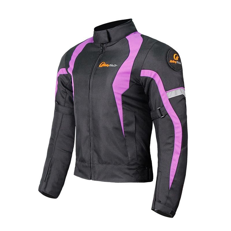 Motorcycle Women Waterproof Jacket Moto Warm Reflective Winter Touring Motorbike Protective Gear Racing Clothing Moto Chaqueta