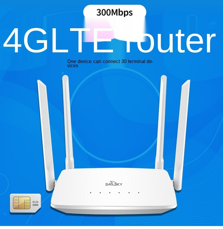 4G router Full Netcom card router OEM/ODM software and hardware development enlarge