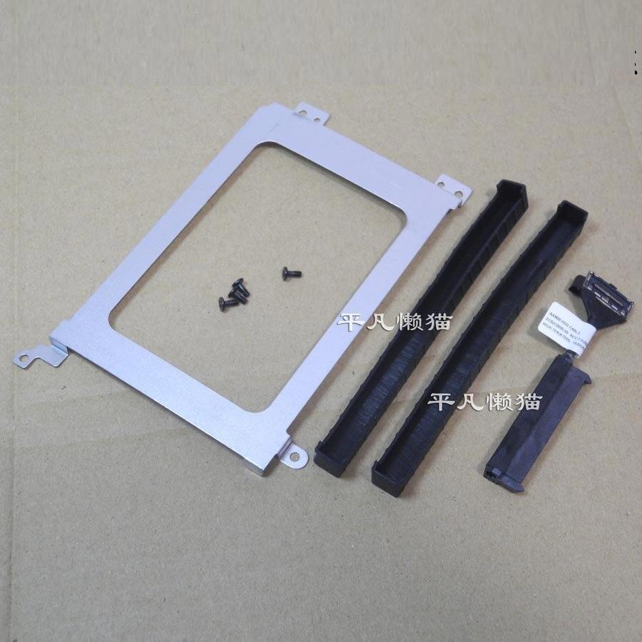 WZSM nuevo conector HDD para Dell Precision M5530 XPS15 9570 Cable de disco duro tira de goma estante de disco duro
