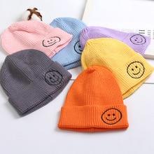 2021 New Baby Beanie Hat warm Autumn Kids Wool Knit Beanie Hat Cuff Beanie Watch Cap for Boys Girls