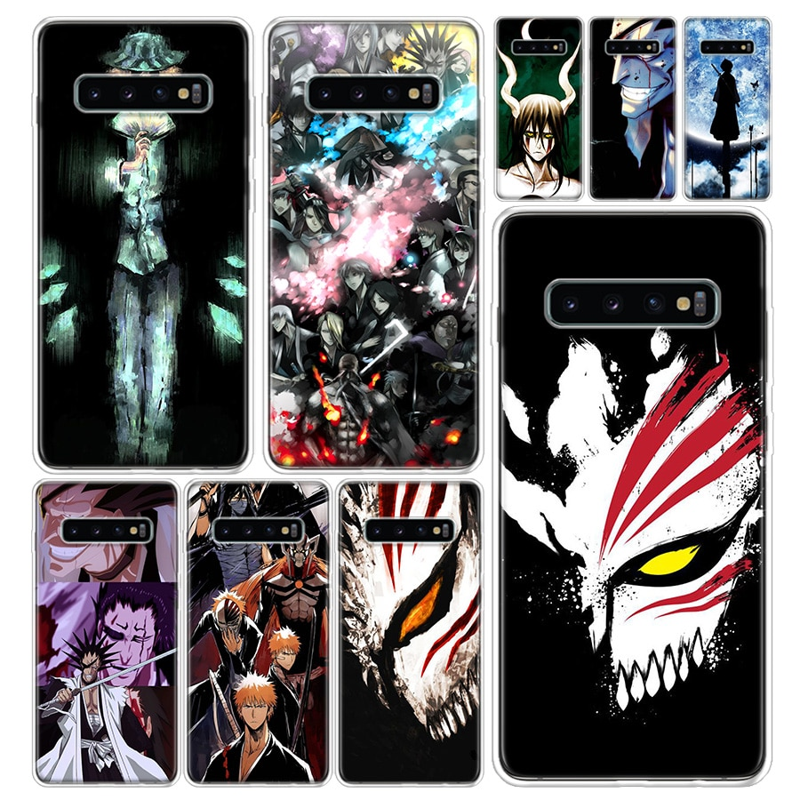 Lejía Nel Kenpachi cubierta de la caja del teléfono para Samsung Galaxy A51 A71 A50 A70 A10 A20E A30 A40 A90 M30S A01 A6 A7 A8 A9 más Coque