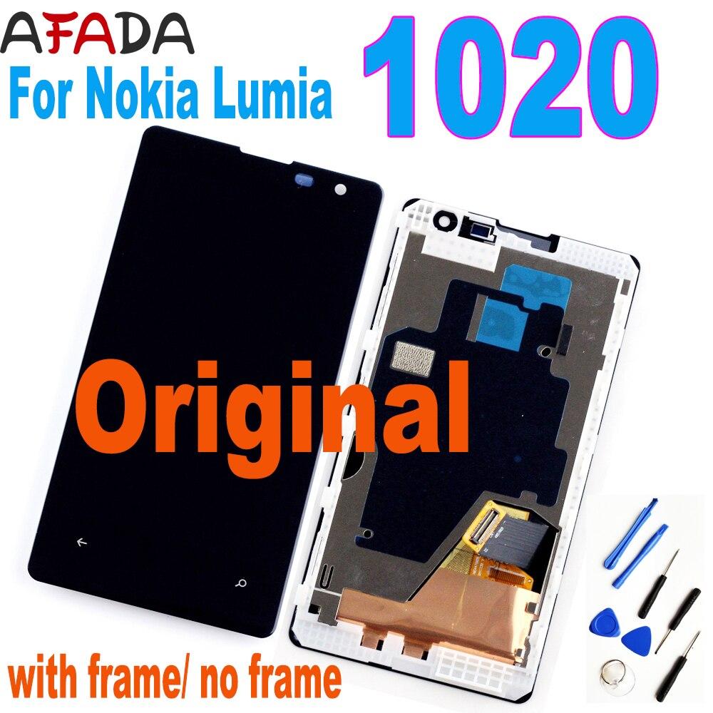 Pantalla LCD de 4,5 pulgadas para Nokia Lumia 1020, Digitalizador de pantalla...