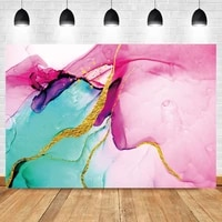 laeacco colorful marbling texture photo abstract background birthday wedding party decor photographic photo backdrop