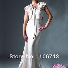 free shipping 2017 new fashion long design vestidos Formal sexy beaded Elegant party custom color ev