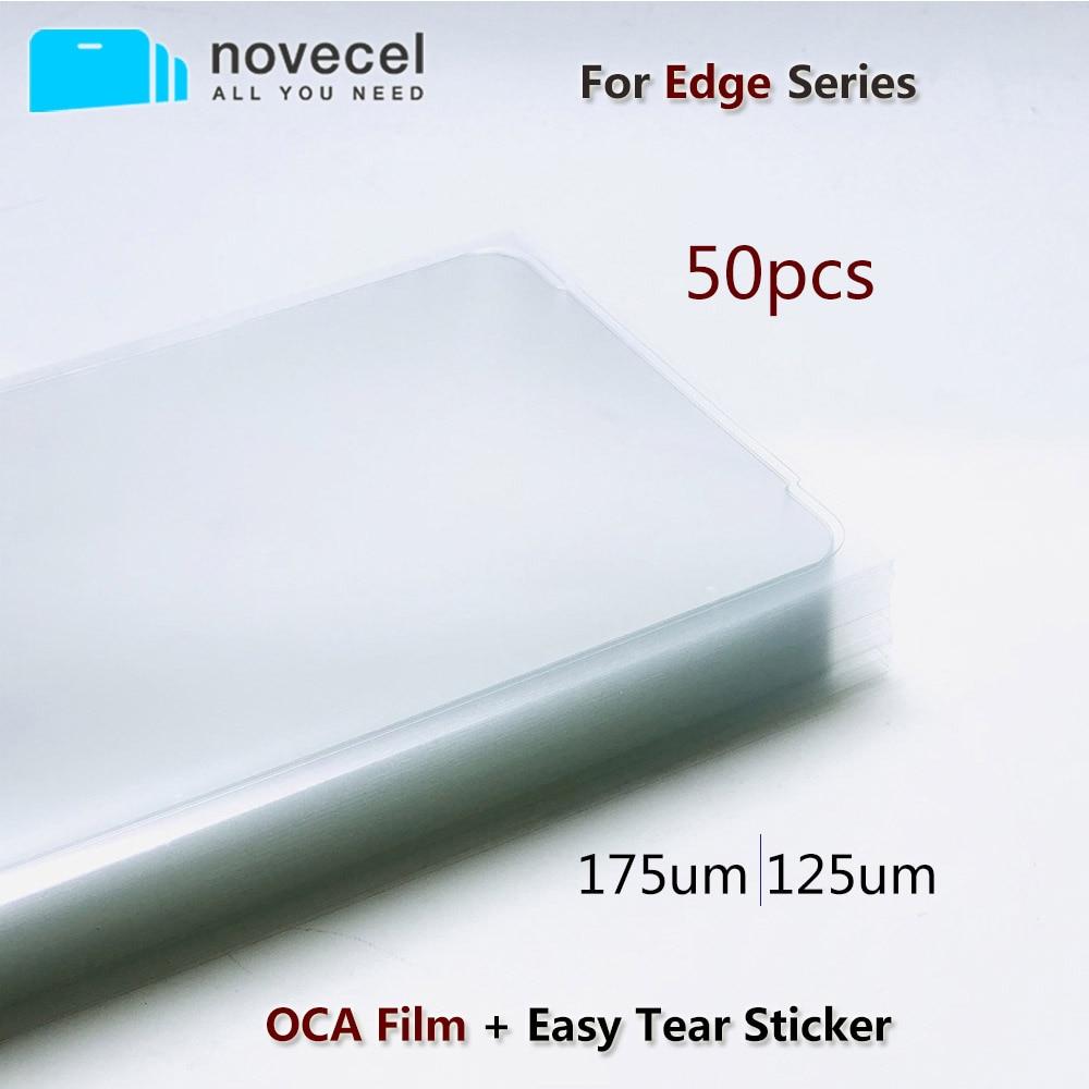 Оптический прозрачный клей OCA 175um 125um для Samsung Galaxy S20 S10 S8 S9 Note 8 9 10 Plus, клей OCA для сенсорного ЖК-экрана, 50 шт.